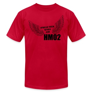 Spread your wings and HM02 - Men's Fine Jersey T-Shirt