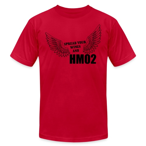 Spread your wings and HM02 - Men's T-Shirt by American Apparel