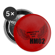 Buttons ~ Large Buttons ~ Spread your wings and HM02