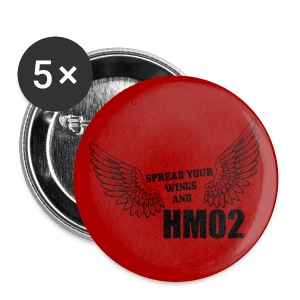Spread your wings and HM02 - Large Buttons