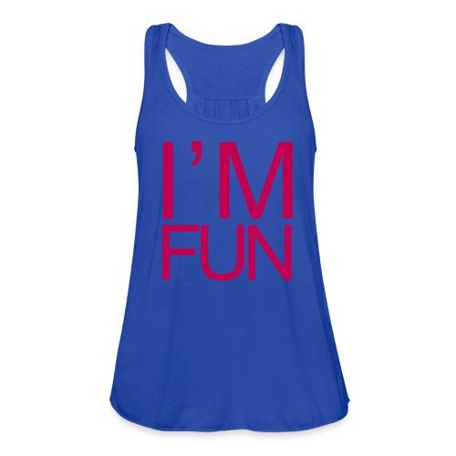 Women's Fun Flow Tank - Women's Flowy Tank Top by Bella