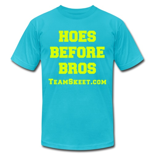 Hoes Before Bros Limited Edition - Men's  Jersey T-Shirt