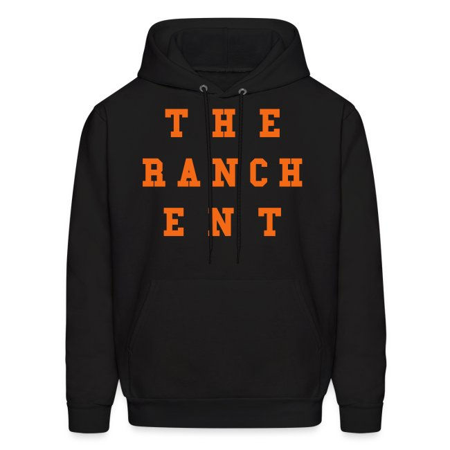 Original Men's Hoodie 3 Orange on Black