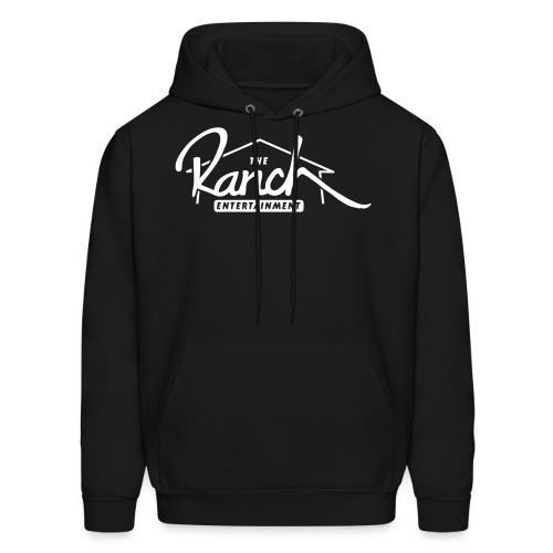 Original Men's Hoodie 2 White on Black - Men's Hoodie