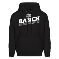 Hoodies ~ Men's Hoodie ~ Original Men's Hoodie 4 White on Black
