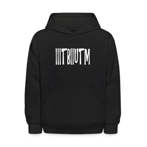IIITBIIUTM - Kids' Hoodie