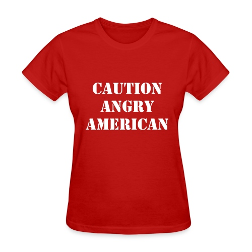 Angry American - Women's T-Shirt