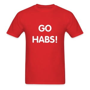 Go Habs - Men's T-Shirt