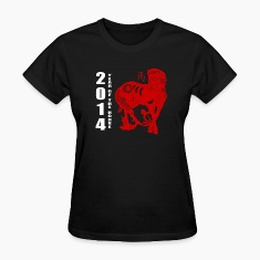 2014 Year of The Horse Paper Cut T-Shirt