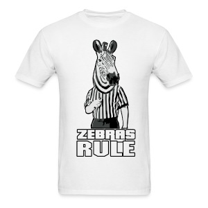 Zebras Rule - Men's T-Shirt