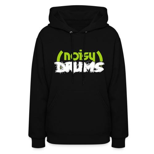 NoisyDrums Official Logo Womens Hoodie - Women's Hoodie
