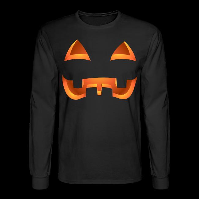 Jack-o-lantern Halloween Shirt Mens' Pumpkin Shirts