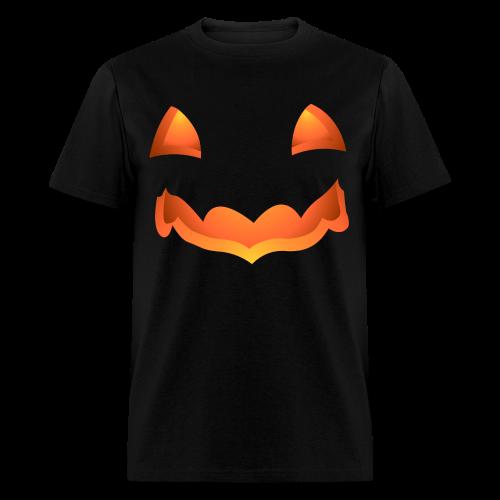 Jack-o-lantern Halloween T-Shirt Men's Pumpkin Shirt - Men's T-Shirt