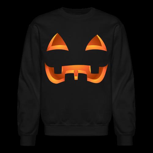 Jack-o-lantern Halloween Shirt Men's Pumpkin Sweatshirt - Crewneck Sweatshirt