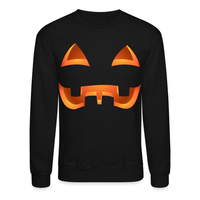 Jack-o-lantern Halloween Shirt Men's Pumpkin Sweatshirt