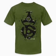 45 R.P.M. Record Adaptor T-Shirt (Men/Olive)