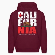 California Republic Bear dotted Hoodies