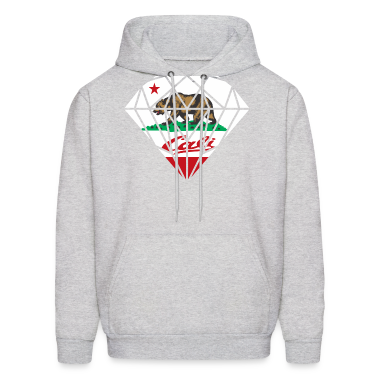 California Diamond Bear Hoodies