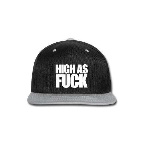 High Snapback - Snap-back Baseball Cap