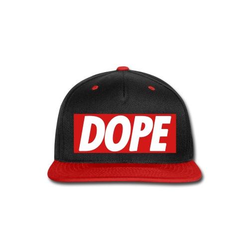 Dope Snapback - Snap-back Baseball Cap