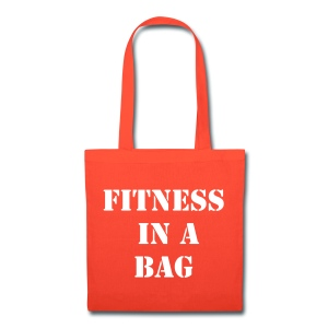 Fitness in a bag - Tote Bag