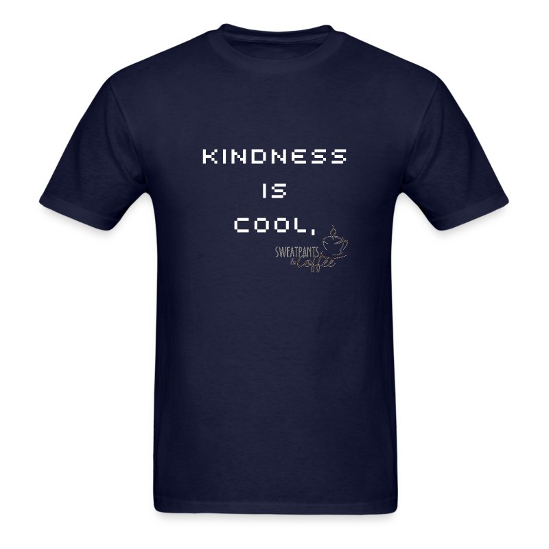 Kindness Is Cool - men's - Men's T-Shirt