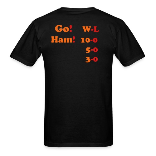 Go Ham Win streak - Men's T-Shirt