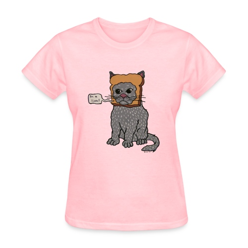 Inbread Cat T-Shirt (Ladies) - Women's T-Shirt