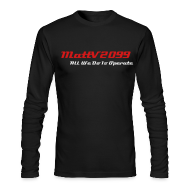 Long Sleeve Shirts ~ Men's Long Sleeve T-Shirt by Next Level ~ All We Do Is Operate Long Sleeve Shirt