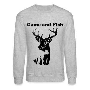Deer sweatshirt - Crewneck Sweatshirt