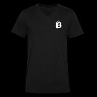 T-Shirts ~ Men's V-Neck T-Shirt by Canvas ~ Bridge Black T-shirt