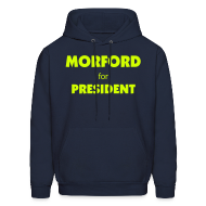 Hoodies ~ Men's Hoodie ~ Official Higher Pie Morford for President Hoodie
