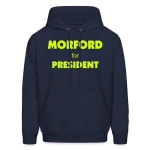 Official Higher Pie Morford for President Hoodie - Men's Hoodie