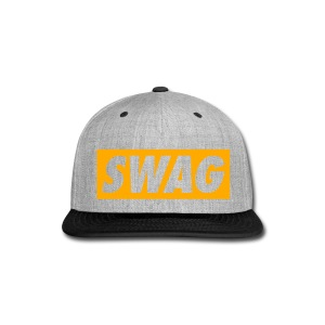 Swag Purple/Yellow - Snap-back Baseball Cap