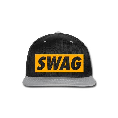 Swag Purple/Yellow - Snap-back Baseball Cap