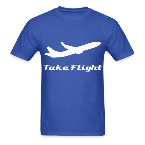 Take Flight (Mens T-Shirt) - Men's T-Shirt