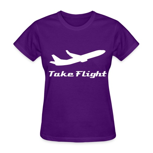 Take Flight (Womens T-Shirt) - Women's T-Shirt
