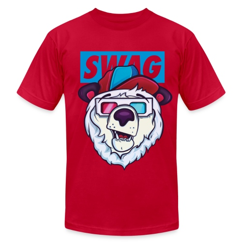 Polar Bear Swag - Men's Fine Jersey T-Shirt