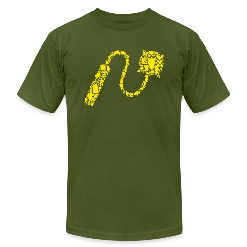 Chain Whip [castlevania] - Men's T-Shirt by American Apparel