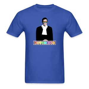 RBG is NOTORIOUS (Men's T) - Men's T-Shirt