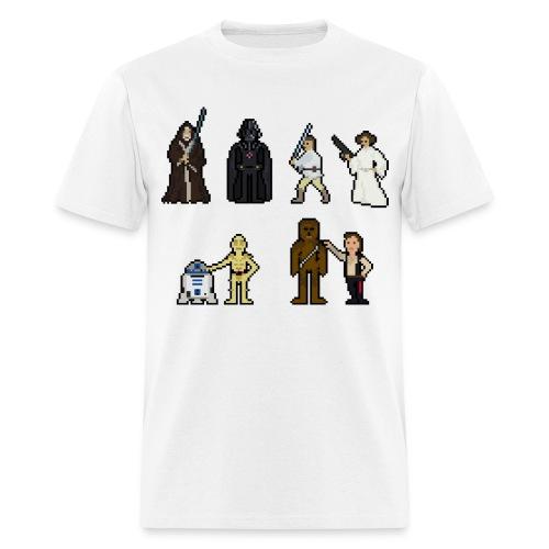 Bit Trauma ''Retro Wars'' T-Shirt Standard Male - Men's T-Shirt