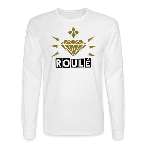 White OUT Shirt  - Men's Long Sleeve T-Shirt