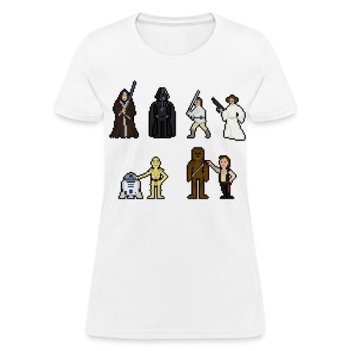 Bit Trauma ''Retro Wars'' T-Shirt Standard Female - Women's T-Shirt