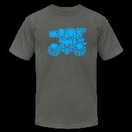 T-Shirts ~ Men's T-Shirt by American Apparel ~ Sophia the 3rd [blastermaster]
