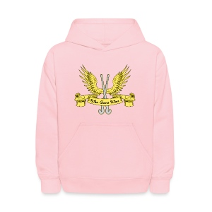 Who Saves Wins Field Hockey Hoodie - Kids' Hoodie