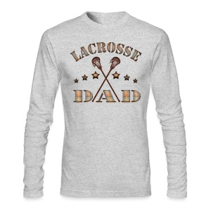 Lacrosse Dad Steampunk T-Shirt - Men's Long Sleeve T-Shirt by Next Level