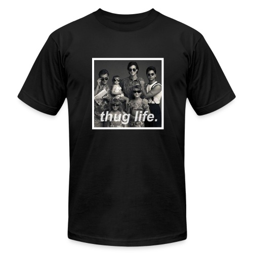 Thug Life brings a Full House - Men's Fine Jersey T-Shirt