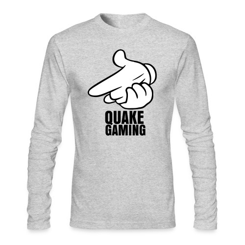 QUAKE GANG - Men's Long Sleeve T-Shirt by Next Level