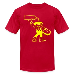 burgerhead - Men's T-Shirt by American Apparel