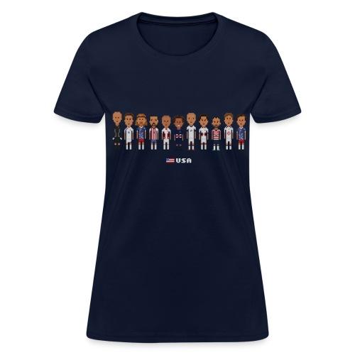 Women T-Shirt - USA Soccer (American Apparel) - Women's T-Shirt